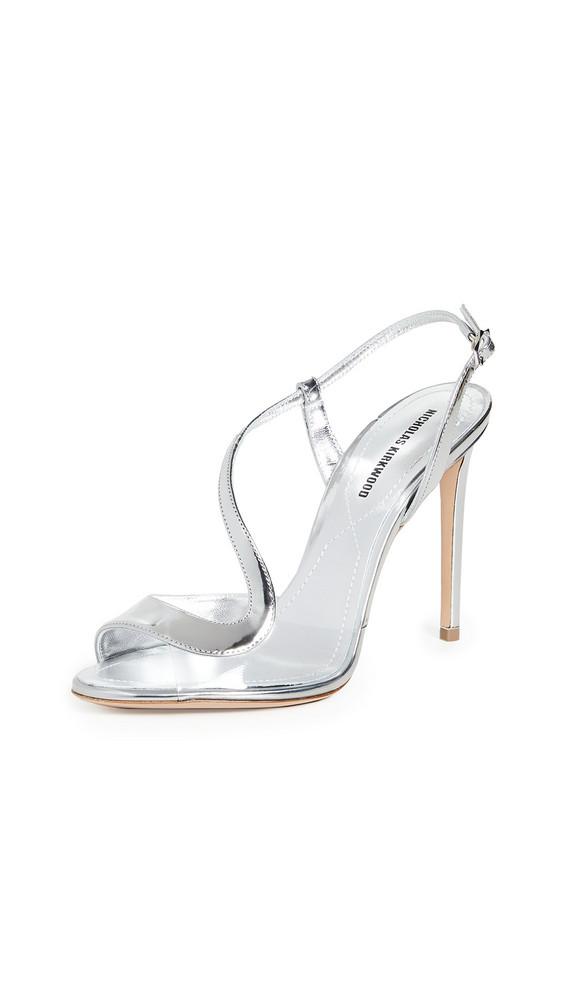 Nicholas Kirkwood S Sandals in silver