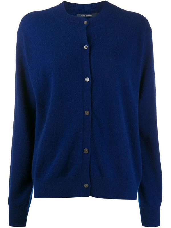 Sofie D'hoore button-down knit cardigan in blue