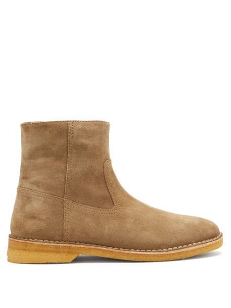 Isabel Marant - Claine Suede Boots - Mens - Brown