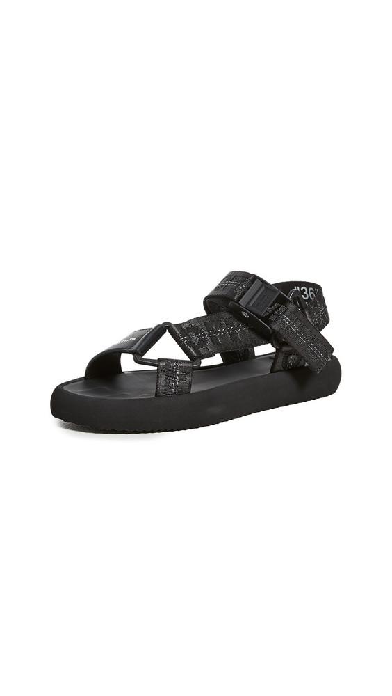 Off-White Trek Sandals in black
