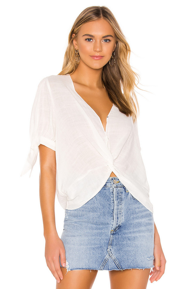 HEARTLOOM Andi Blouse in white