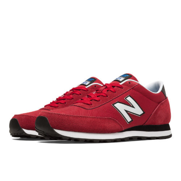 New Balance 501 Ballistic Men's Running Classics Shoes - Red, Black, White (ML501MOA)