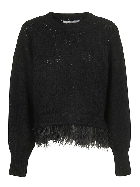 Philosophy di Lorenzo Serafini Knitted Sweater in nero