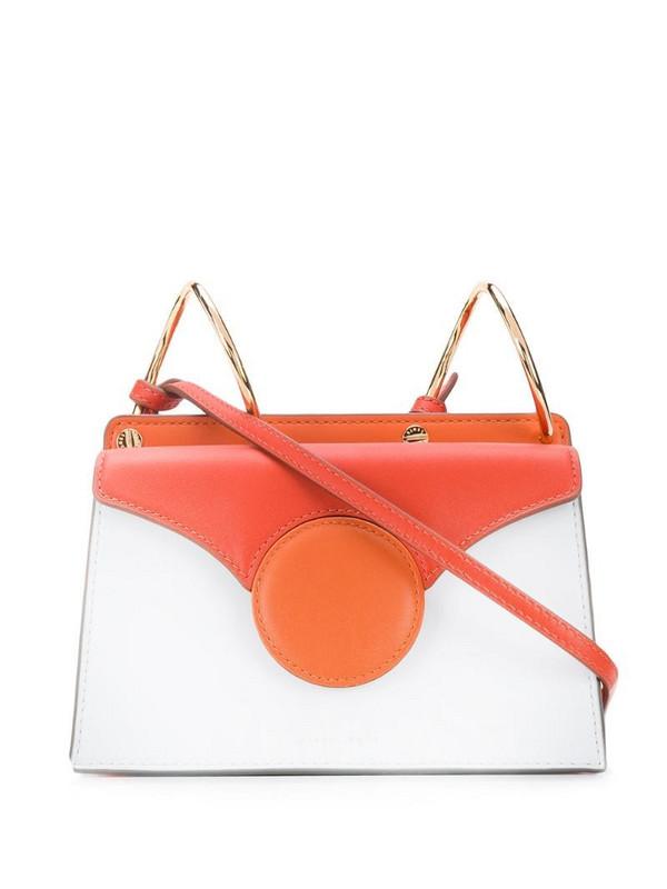 Danse Lente Phoebe colour-block crossbody bag in orange