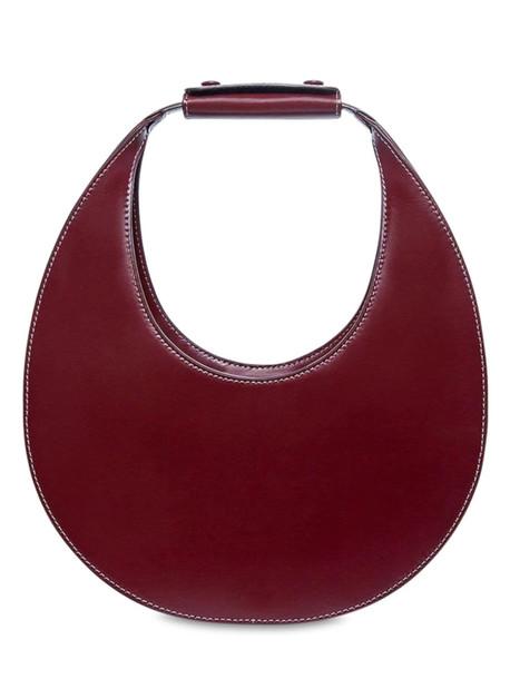 STAUD Moon Smooth Leather Bag