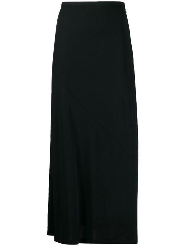 Maison Martin Margiela Pre-Owned 1990's flared maxi skirt in black