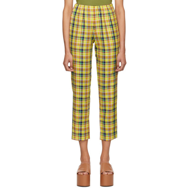 Simon Miller Yellow Etto Trousers