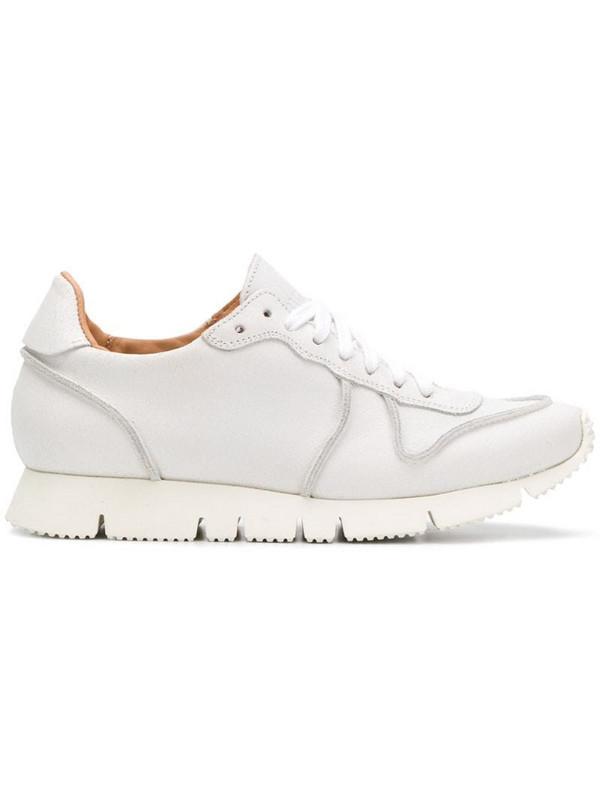Buttero chunky heel sneakers in white