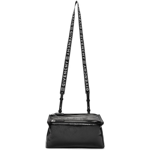 Givenchy Black Mini 4G Strap Pandora Bag