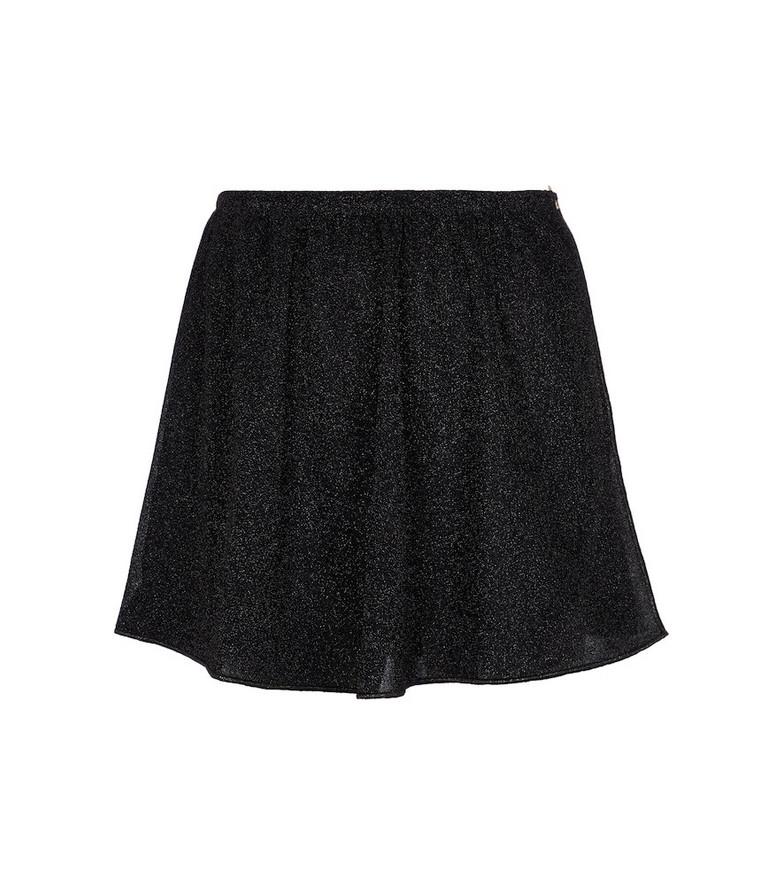 Oséree Lumière miniskirt in black