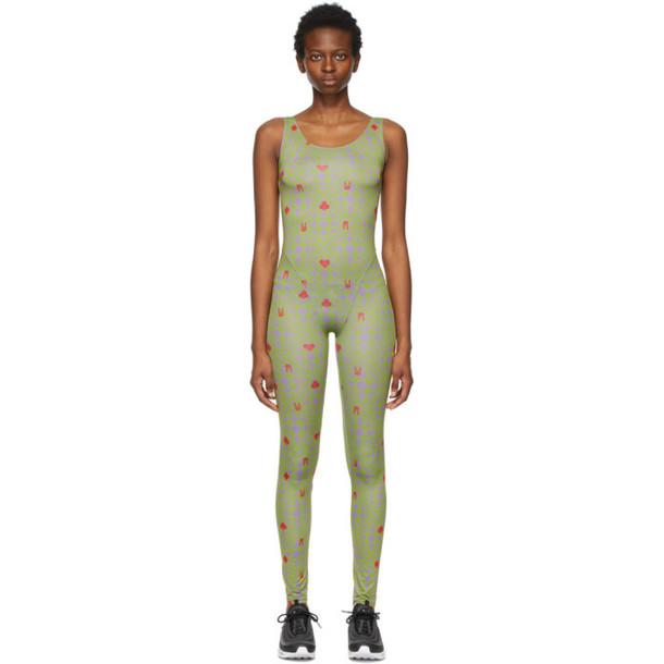 Maisie Wilen Green Revenge Body Jumpsuit
