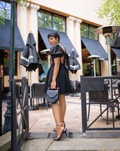 dress,open back dresses,mini dress,all black everything,sandals,date outfit