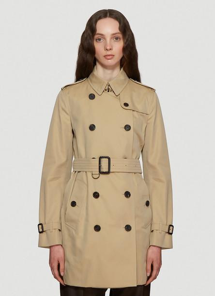 Burberry Kensington Heritage Trench Coat in Brown size UK - 04