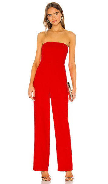 NBD Ivy Jumpsuit in Red