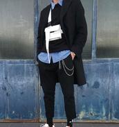 bag,crossbody bag,satchel bag,white bag,long straps