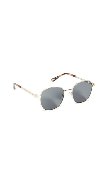 Quay Link Up Sunglasses in gold