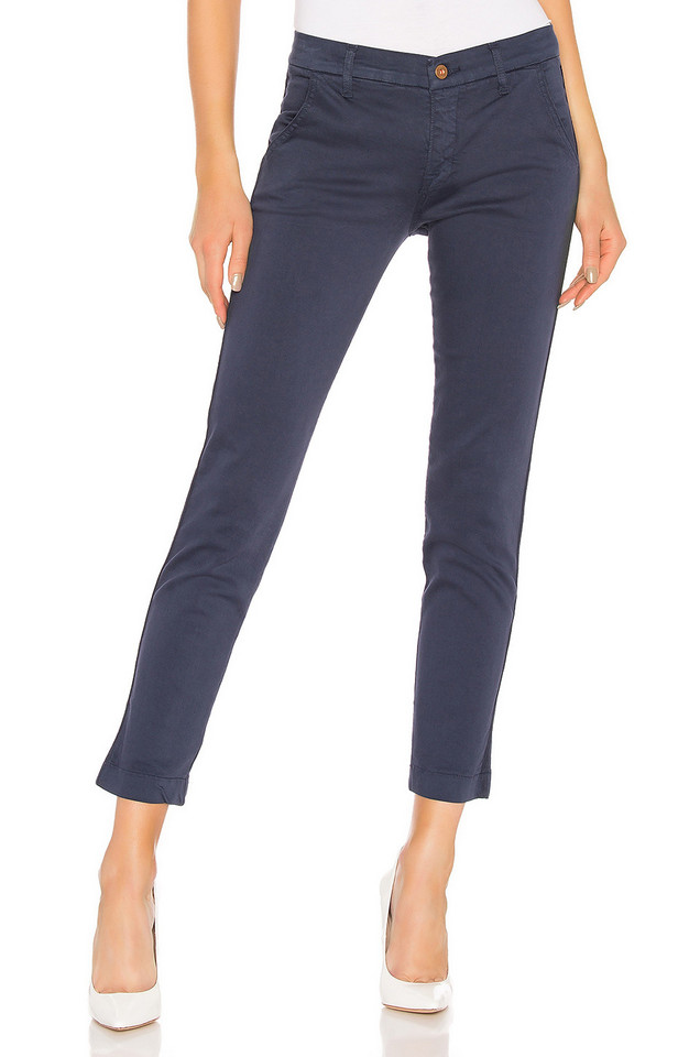 NSF Wallace Skinny Tape Seam Trouser in blue