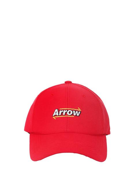 ADER ERROR Nylon Baseball Hat W/ Mesh in red