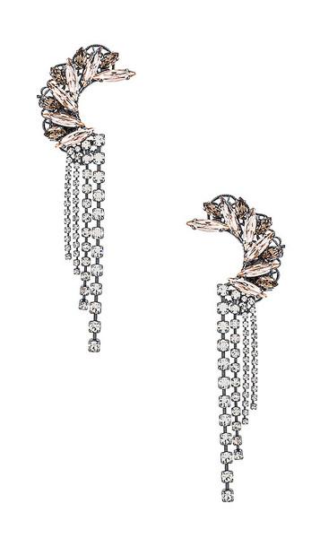 Anton Heunis Crawler Earring in Metallic Silver