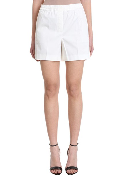 Theory Easy Shorts in white