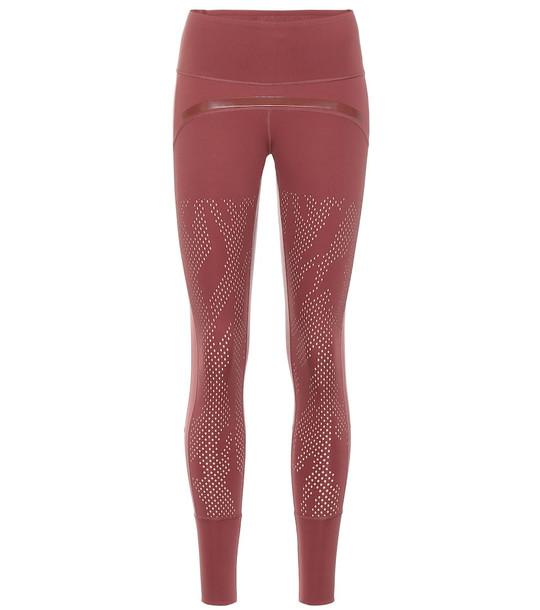 Adidas by Stella McCartney Train Tight leggings in red