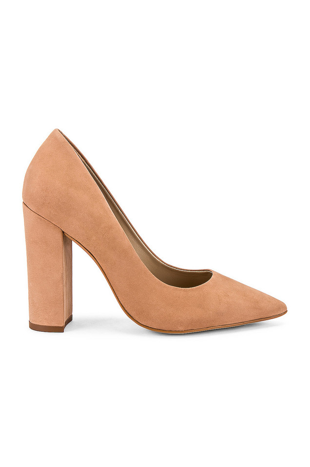 Steve Madden Prance Pump in tan