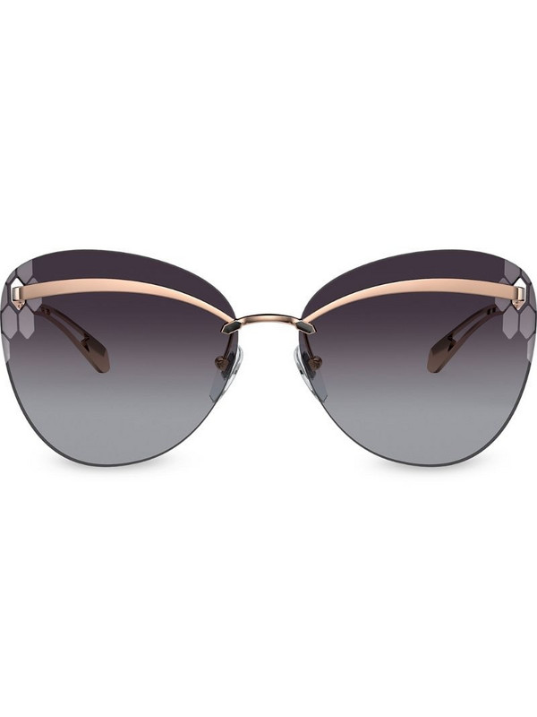 Bvlgari Serpenti Flyingscale Butterfly sunglasses in gold