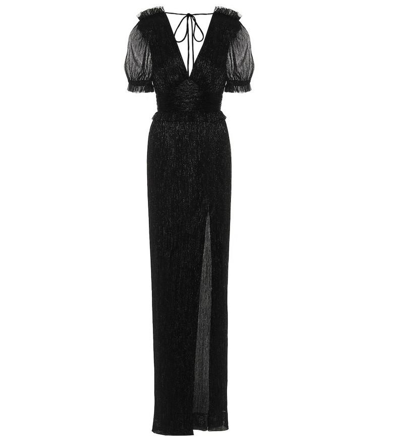 Rebecca Vallance Luna gown in black