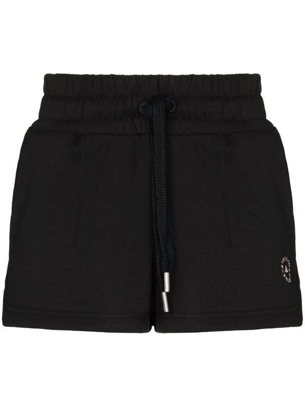 adidas by Stella McCartney drawstring running shorts in black