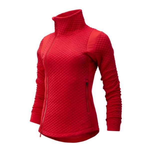 New Balance 93116 Women's NB Heat Loft Jacket - Red (WJ93116REP)