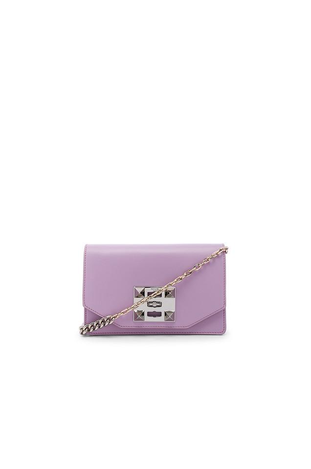 SALAR Kio Chain Bag in purple