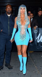 dress,vinyl,bodycon dress,kim kardashian,kardashians,costume,plunge dress,sexy dress,celebrity