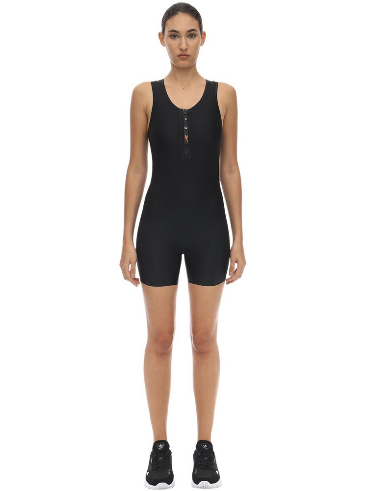 REEBOK X VICTORIA BECKHAM Techno Jersey Jumpsuit in black