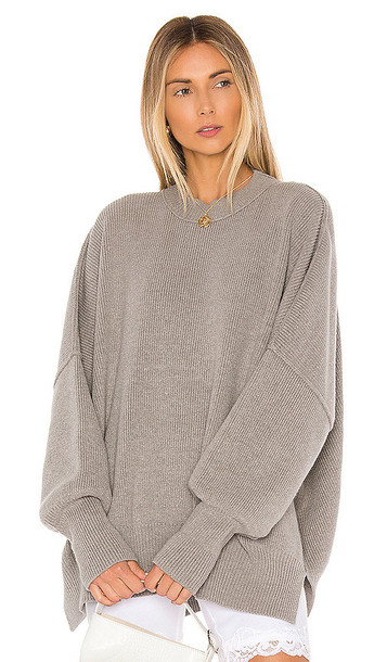 Free People Easy Street Tunic in Gray