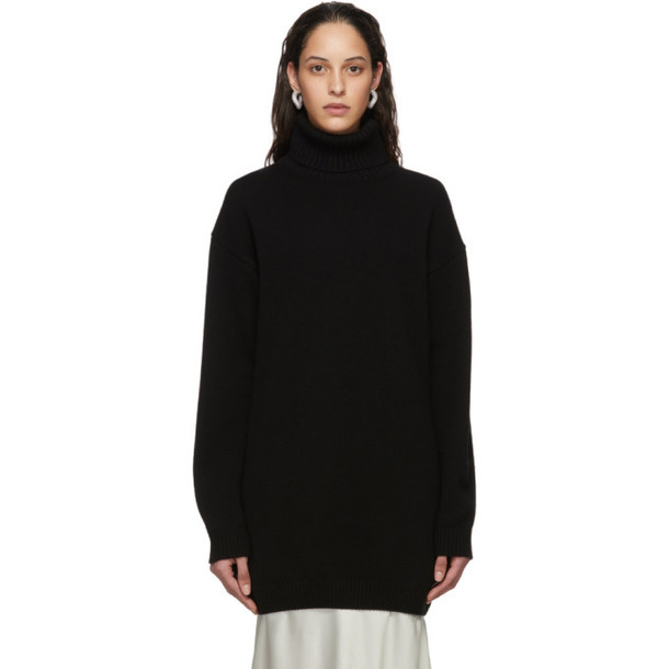 Gauge81 Black Oversized Cashmere Perth Turtleneck
