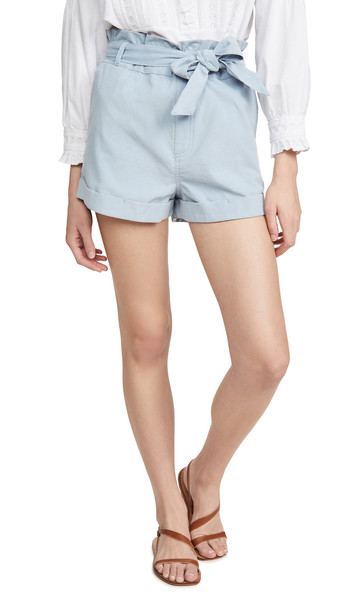 Knot Sisters Jade Shorts in blue