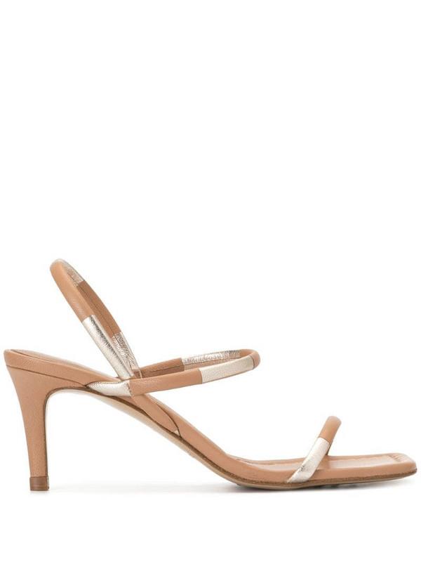 Pedro Garcia Ilona strappy sandals in neutrals