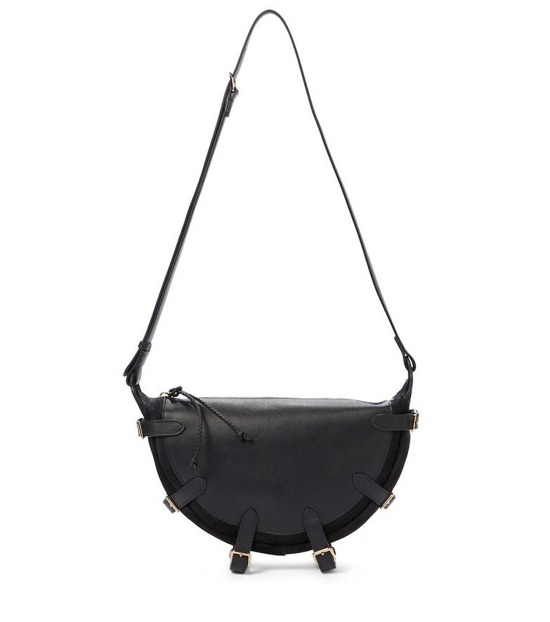 Altuzarra Play leather shoulder bag in black