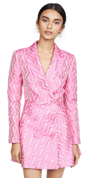 ROTATE Number 23 Dress in pink