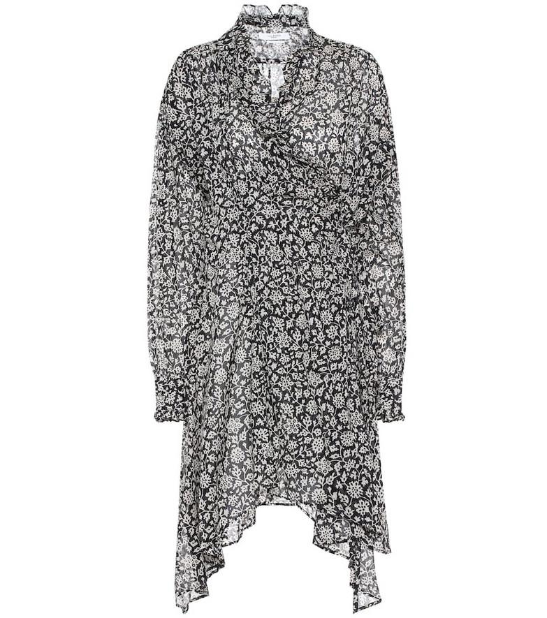 Isabel Marant, Étoile Pamela floral cotton midi dress in black