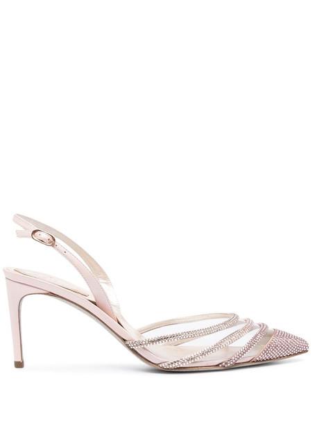 René Caovilla Vivienne sandals in pink