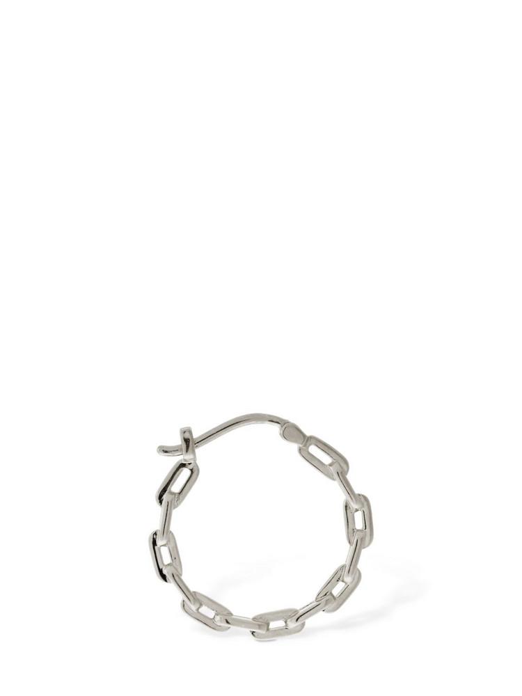 MARIA BLACK Gemma 15 Mono Hoop Earring in silver