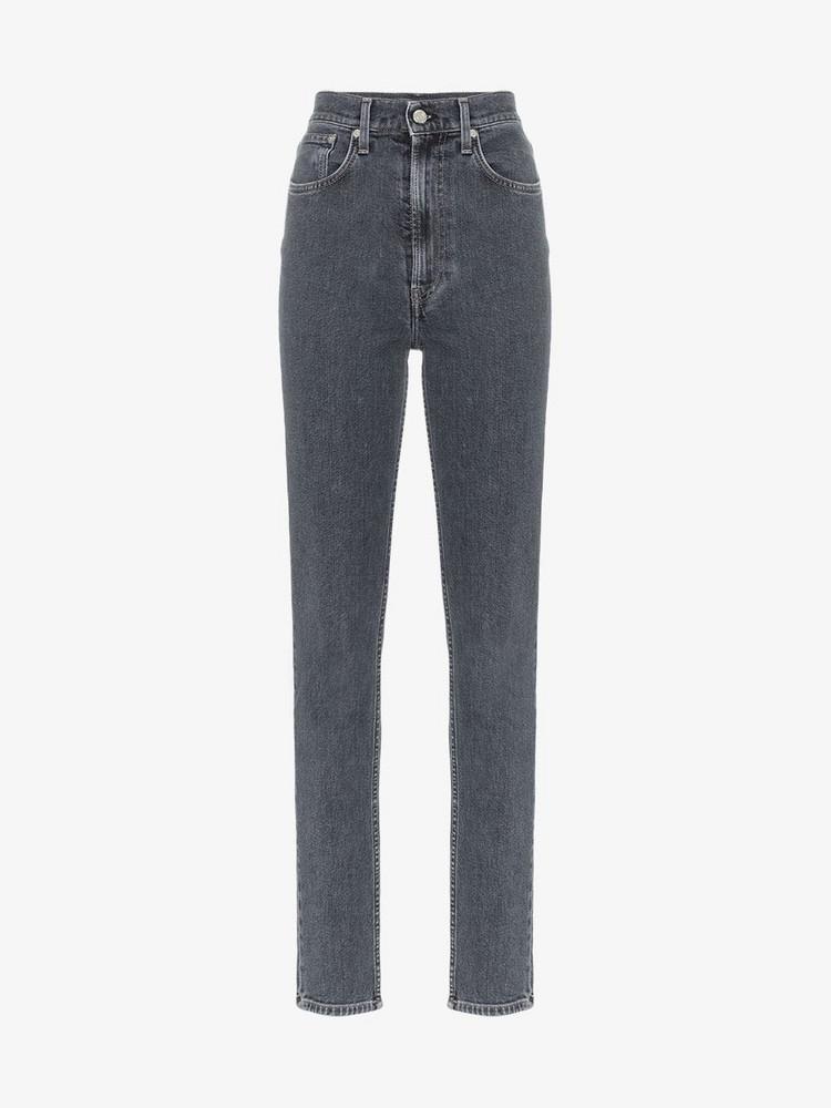 Helmut Lang high-waist skinny jeans in black