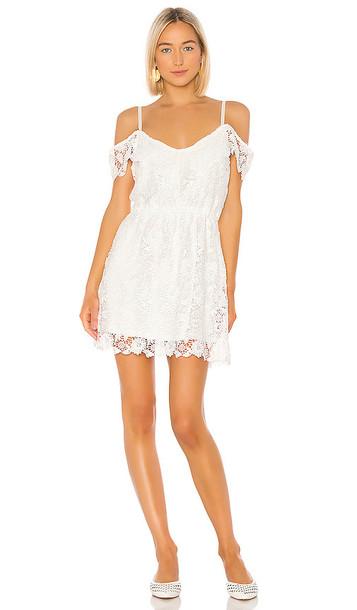 BB Dakota Jack by BB Dakota Take Me Downtown Dress in White