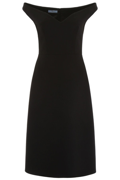 Prada Midi Dress in black