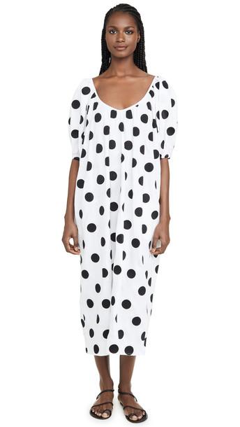 Mara Hoffman Romina Dress in black / white
