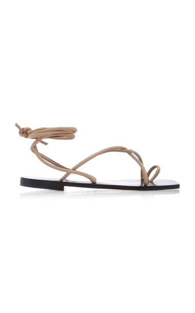 A.Emery Kinsley Leather Sandals Size: 36 in neutral