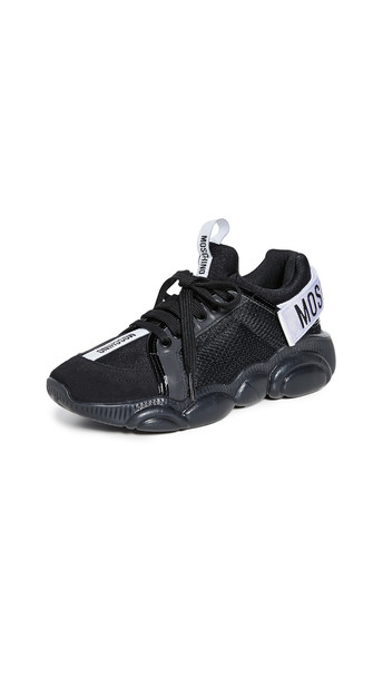 Moschino Moschino Sneakers in anthracite