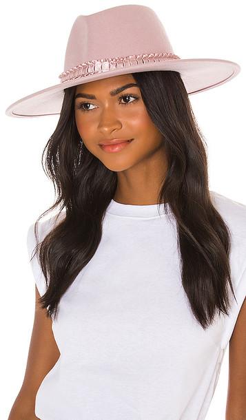 Eugenia Kim Harlowe Hat in Pink