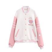 sweater,hoodie,cats,pink,harajuku